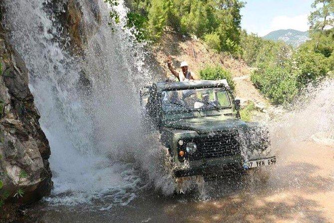 Jeep safari Ucansu waterfall from Antalya and regions