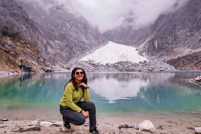 4WD Jeep Drive Kaphuche Glacier Lake Tour and Trekking From Pokhara