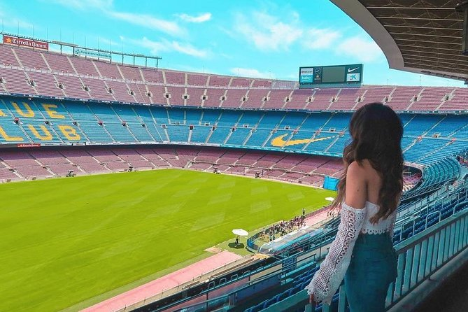 FC Barcelona Arena Visit : Camp Nou and Museum Experience