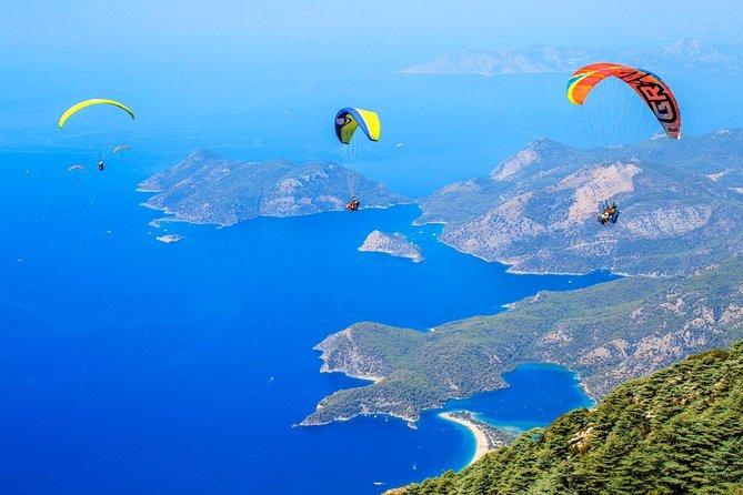 Paragliding in Fethiye from Antalya region