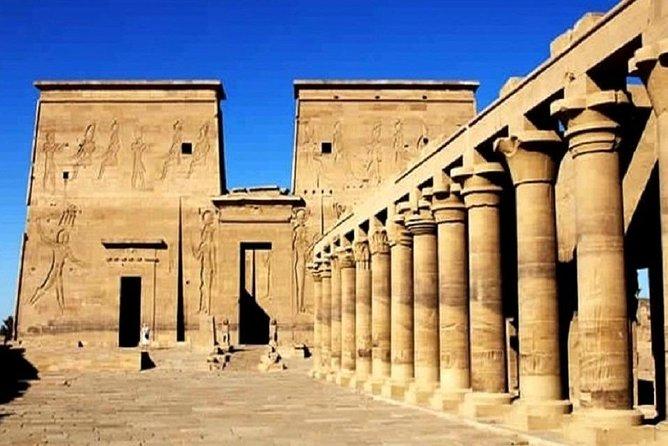 ( philae temple – The high Dam – Lake Nasser – The obelisk )