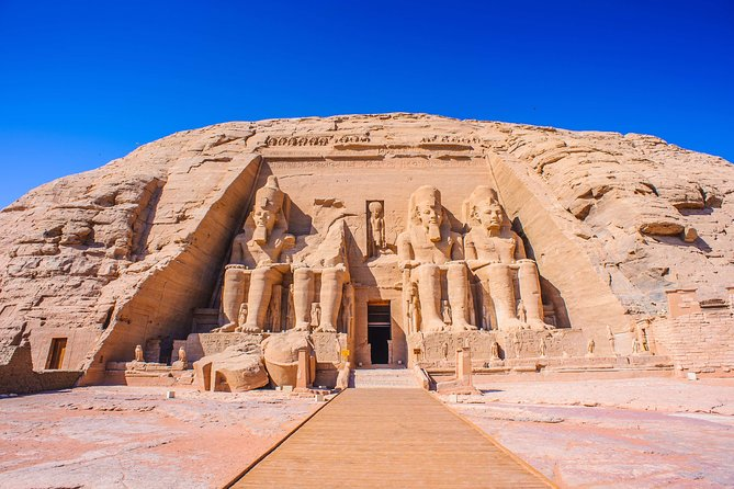 Day trip to Abu Simbel temples from Aswan by plane