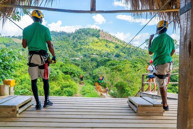 Caribbean Zip Lines Adventure