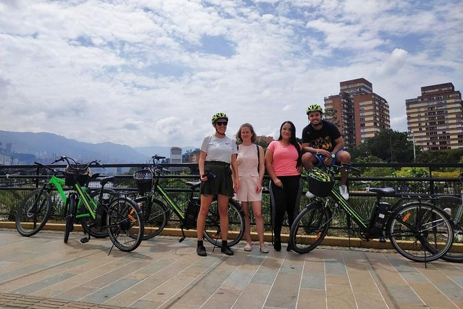 Electric Bike City Tour Medellin, Viewpoints, Local Food and Drink tastings