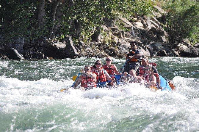 Wenatchee River Class 3 Whitewater Rafting Adventure