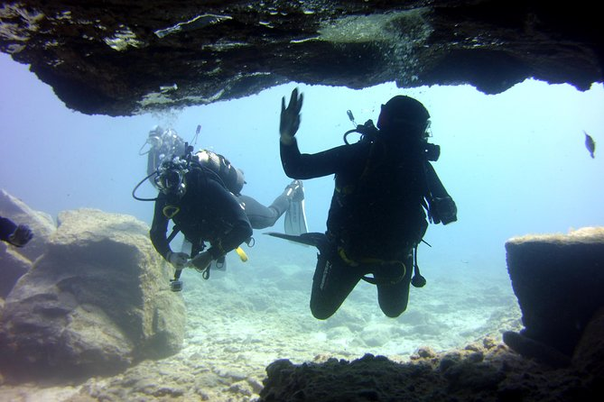 2x diving package, on request including refreshment