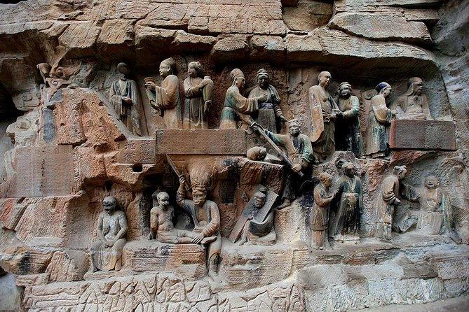 Chongqing Dazu Rock Carvings Private Day Tour