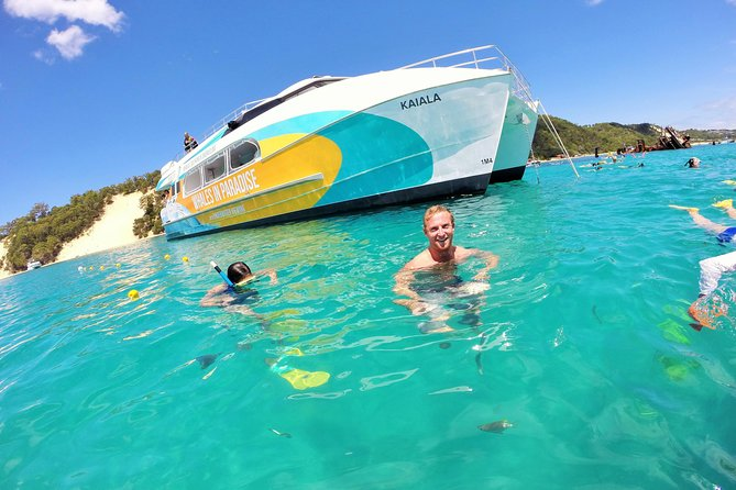 No Extra Cost | Dolphin Watch & Tangalooma Wrecks Cruise with Snorkeling photo 1