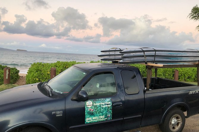 2-Hours Unique Clear SUP Private Experience in Maui