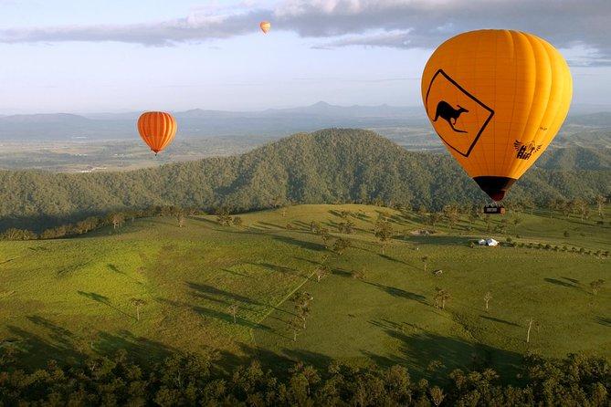 Hot Air Balloon & Gold Coast Tour
