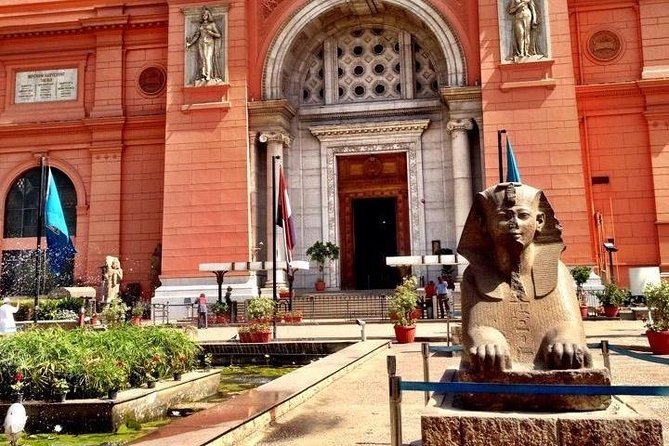 Visit Cairo's popular tourist destinations for 4 hours. Egyptian Museum