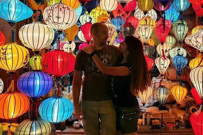 Marble Mountain - Hoi An Ancient City - Sampan Boat Ride- Colourful Night Market