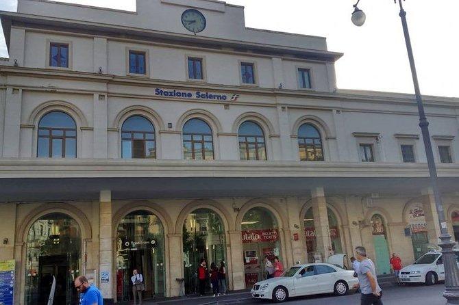 Salerno Train Station /Private Driver