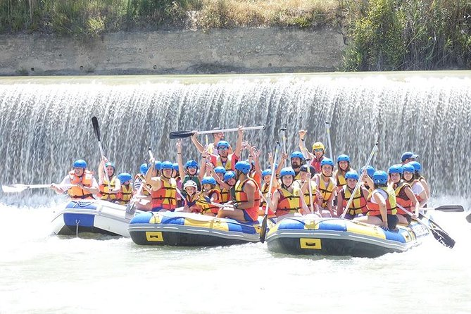 Rafting + lunch from 9'00 to 13'00