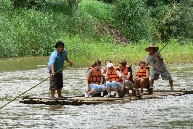 3D2NTrek Adventure at Chiang Mai Mea Wang Including Overnight at Karen Hilltribe