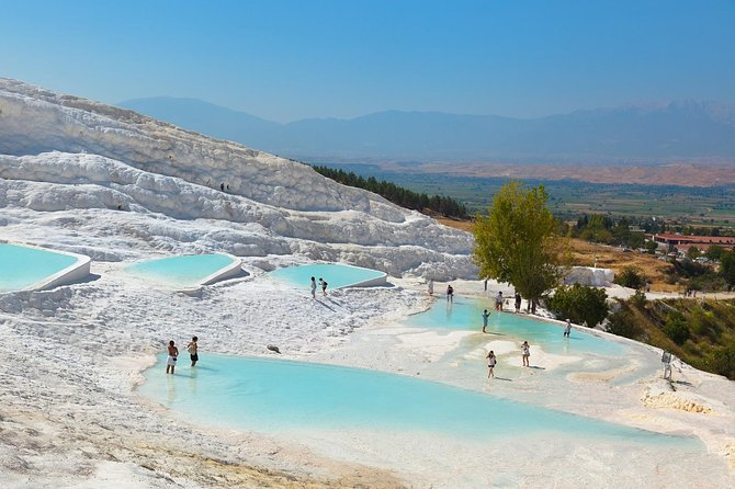 Day Trip to Pamukkale and Hierapolis from Antalya