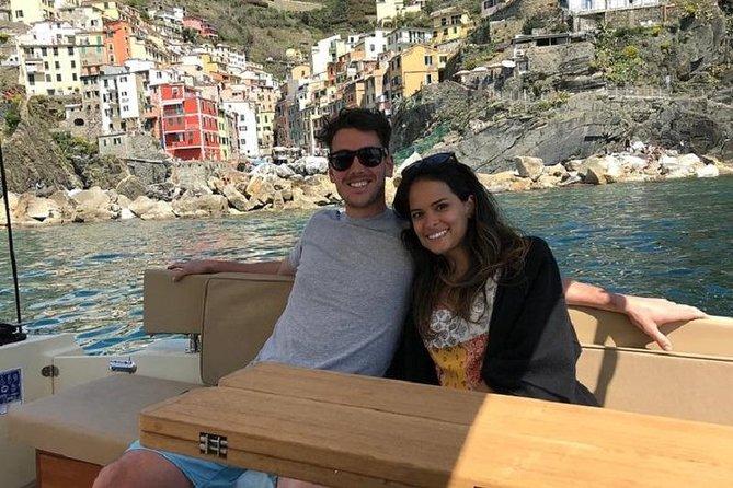 Cinque Terre Private Boat Tour from La Spezia (3 hours max 4 people)