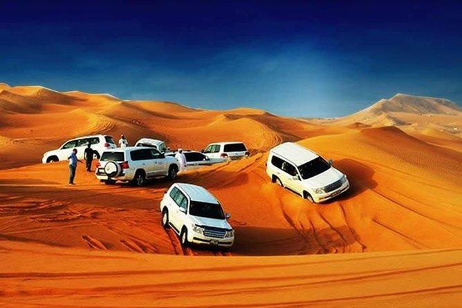 Evening Red Dune Desert Safari with BBQ Dinner