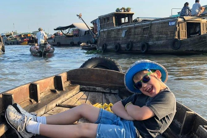 Cai Rang Floating Market in Can Tho Private 1 Day