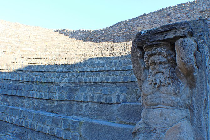 Private Pompeii & Herculaneum Archaeological sites tour from Rome