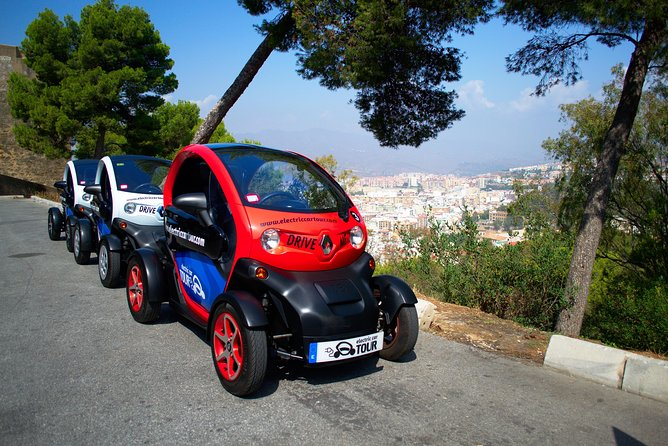 Premium Private Tour Malaga by Electric Car for you,your partner or your family