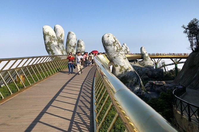 Golden Bridge/Ba Na Hills Trip From Chan May Port