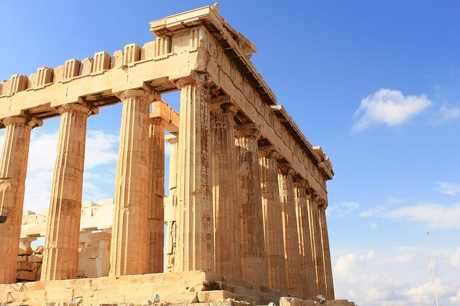 Sightseeing tour in ancient Athens