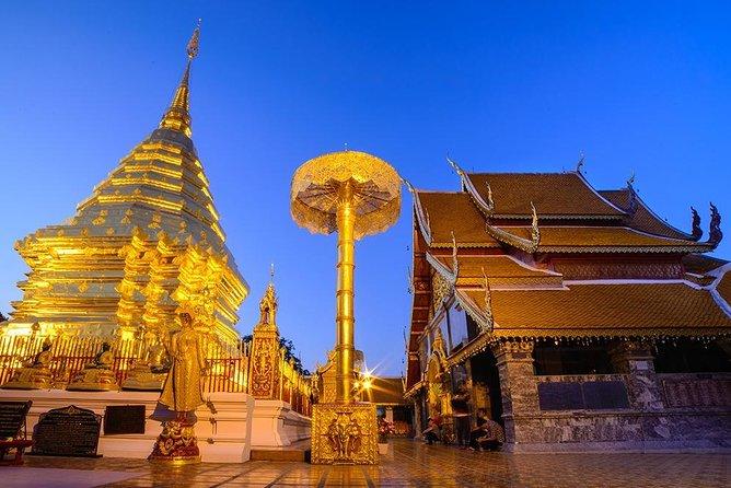 Best Six Chiang Mai Temple Tour + Doi Suthep Including Lunch (Minimum 2 pax)