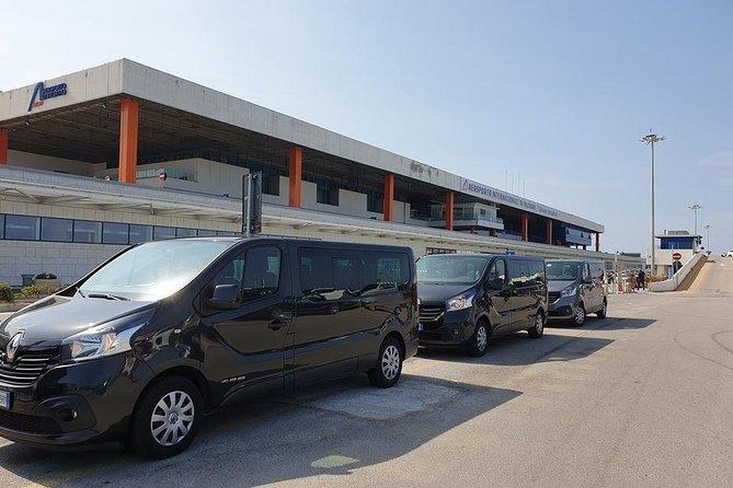 Transfer da Trapani aeroporto a Trapani porto