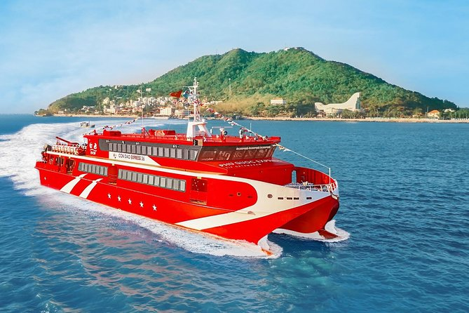 Ferry tickets from Can Tho to Con Dao island by Con Dao Express