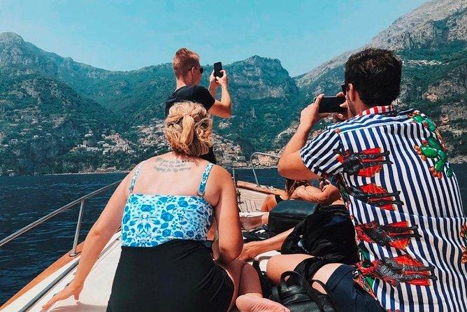 Private boat tour Capri & Positano