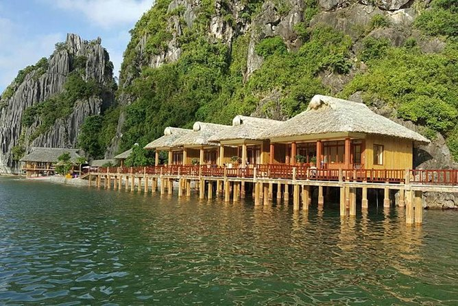 Royal Palace Cruise - 3 Days 2 Nights (Boat + Bungalow in Nam Cat Island-Cat Ba)