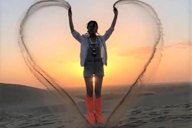 Sunrise in Dubai Desert | Dune Bashing | Camel Farm visit