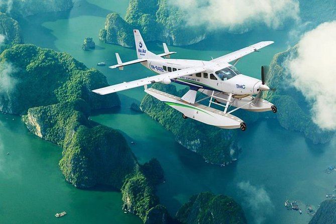 Halong Bay By Seaplane Enjoy The Wonder From The Sky