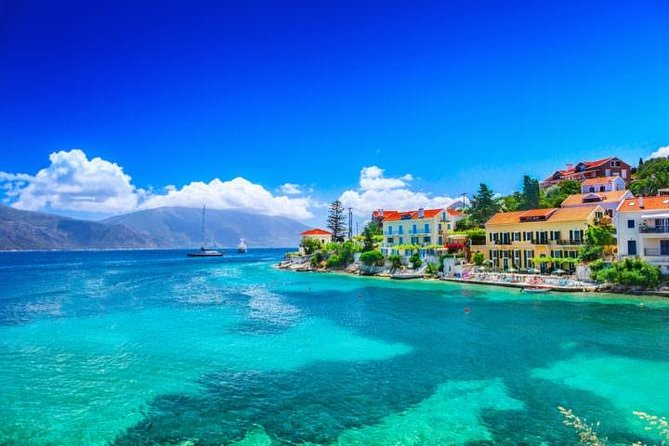 Shared Day Trip from Kefalonia around Ithaca island