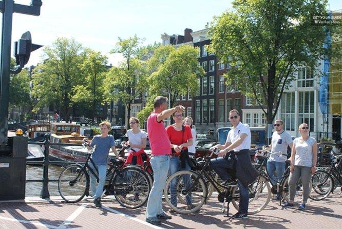 Explore Historic City Amsterdam By Bike