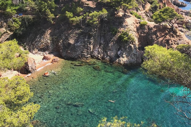 Hike and Swim the Famous Costa Brava. Small Group Tour, from Barcelona.