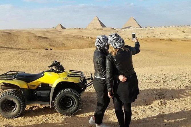 Quad Bike At Giza Pyramids Desert (ATV)