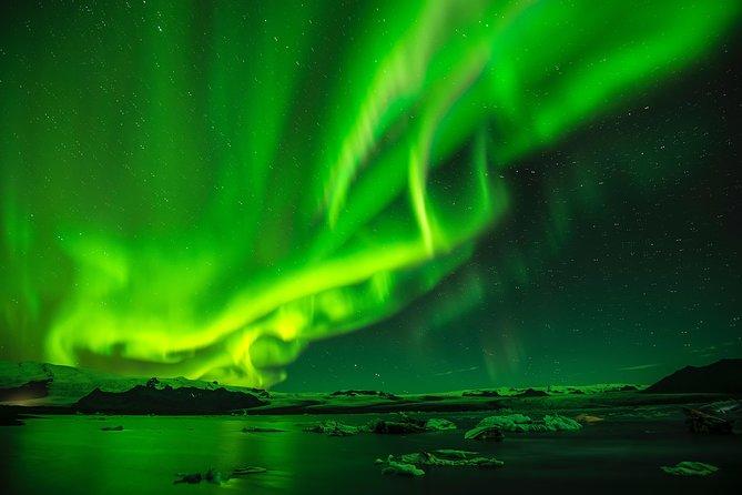 Northern Lights Hunt and Glacier Lagoon