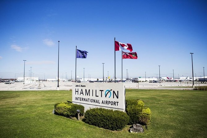 Private Transfer: Niagara Falls, ON to Hamilton Airport (YHM)