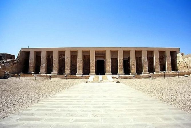 Guided tour to Dendera Temple complex and Abydos Temple