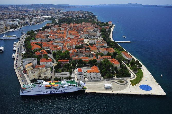 Private transfer from Split Airport to Zadar