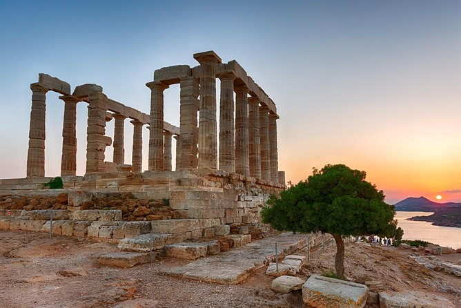 Athens Highlights & Cape Sounio Full Day Private Tour