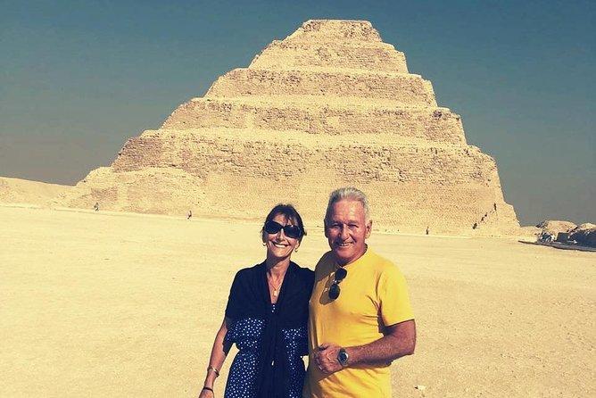 Private Full-Day Tour to Pyramids, Sakkara and Memphis City