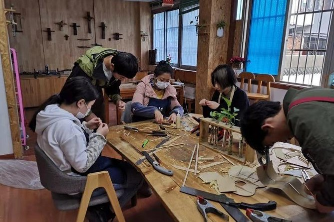 Half Day Private Chengdu Woodworking Class