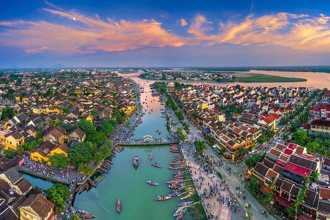 Hoi An Ancient Town Trip from Hue City via Hai Van Pass