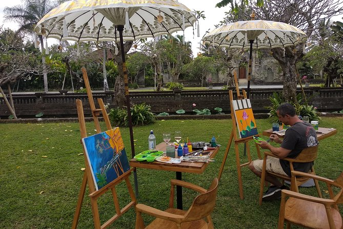 Private painting class at museum & wine testing (including lunch)