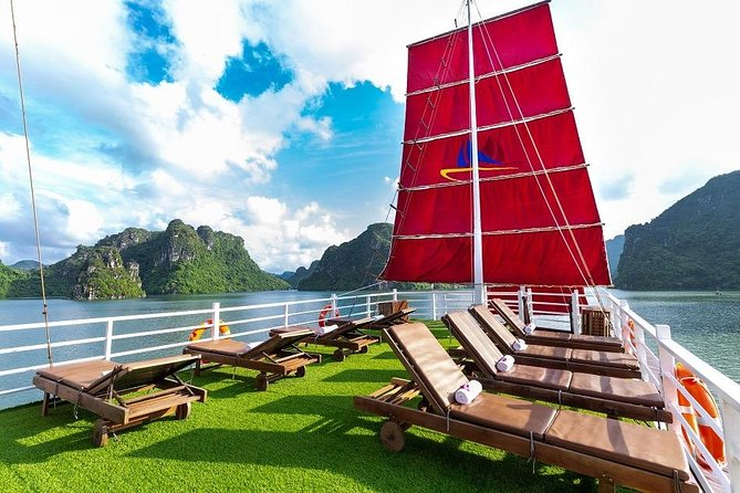 (Official): Ha Long Amazing sail orient luxury one day tour