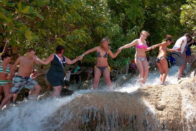 Round trip transfer to Climbing Dunn's River Falls from Montego Bay