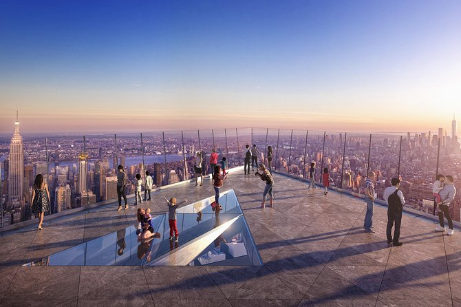 The Edge Observation Deck Reserve & Statue of Liberty NOW OPEN